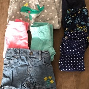 Other - 6 onesies and 1 shorts